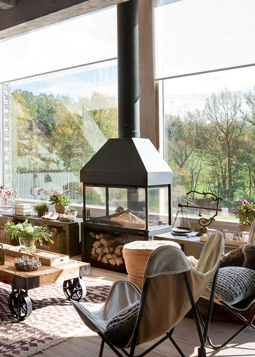 pellet fireplaces stovers barcelona-climadifusion